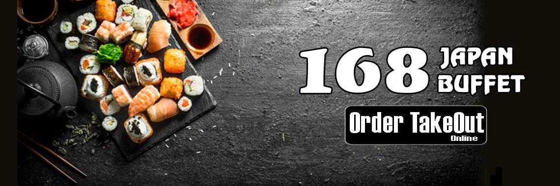 168 Japan Buffet