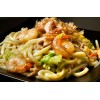 Shrimp and Scallop Fried Udon