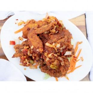 8. Deep Fried Chicken Wings