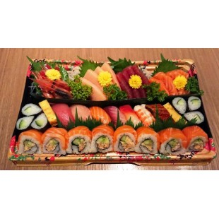 Mixed Tray I Sashimi Special Roll (47pcs)