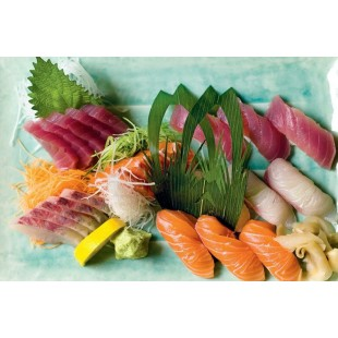 Mixed Tray J Sashimi Sushi (56pcs)