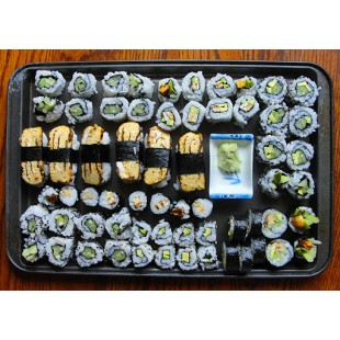 Mixed Tray G Veggie Roll (35pcs)